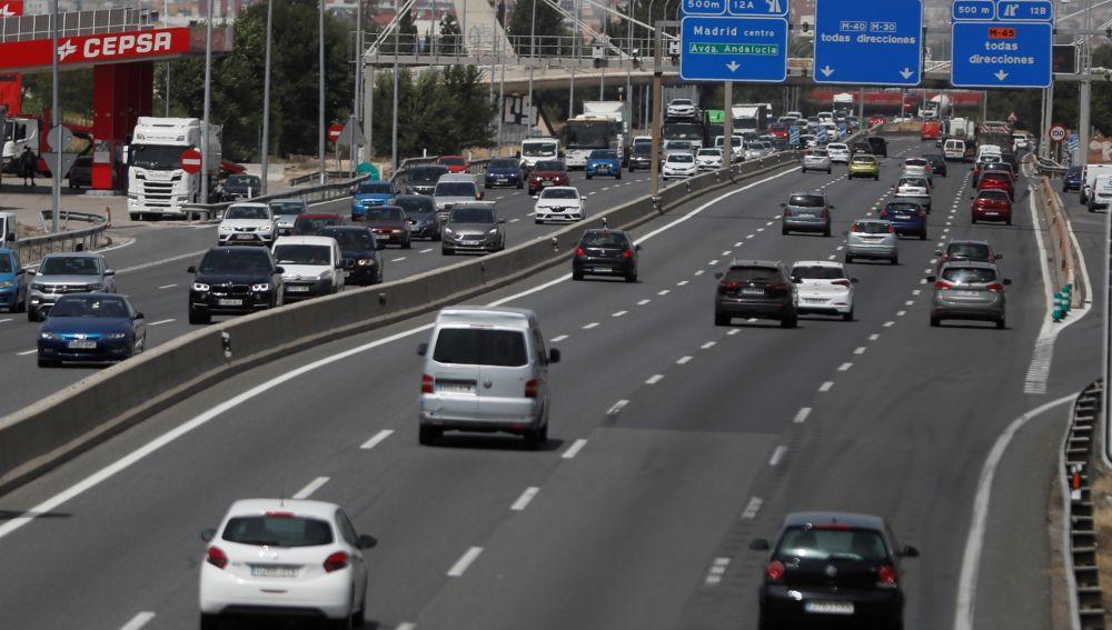 Desplazamientos en carretera de Andalucía