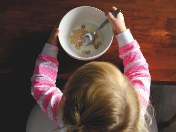 Importancia del desayuno en los niños