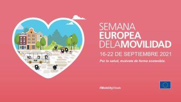 Comienza la Semana Europea de la Movilidad 2021 con el tema 'Movilidad sostenible, saludable y segura'