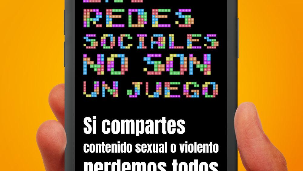 Cartel del Canal Prioritario de la Agencia Española de Protección de Datos