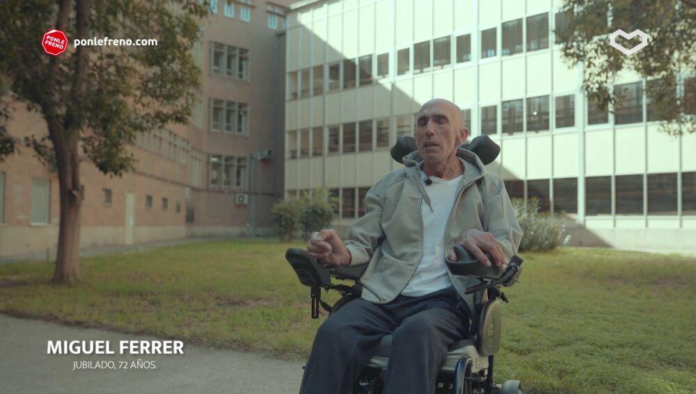 La historia de Miguel Ferrer