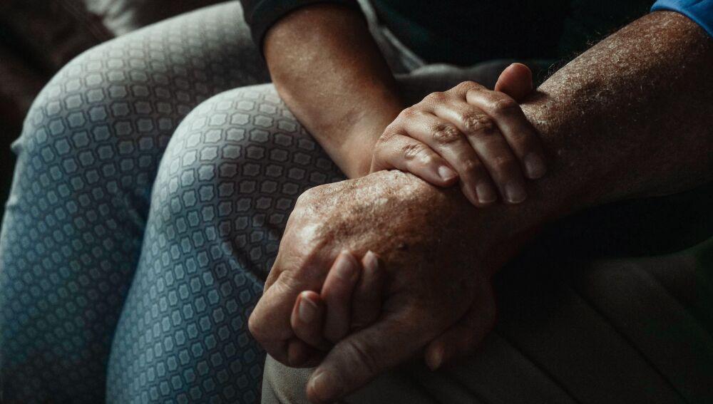 Persona con alzhéimer