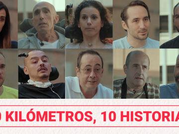 10 kilómetros, 10 historias