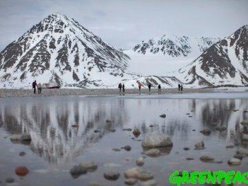 Bajas temperaturas en el Ártico