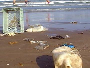 Basura playa