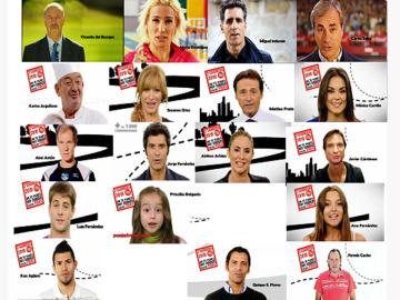 Los famosos en la Carrera Ponle Freno en Madrid