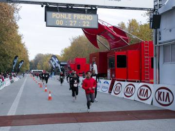 Minuto 27,22 Carrera Ponle Freno 2010 en Madrid
