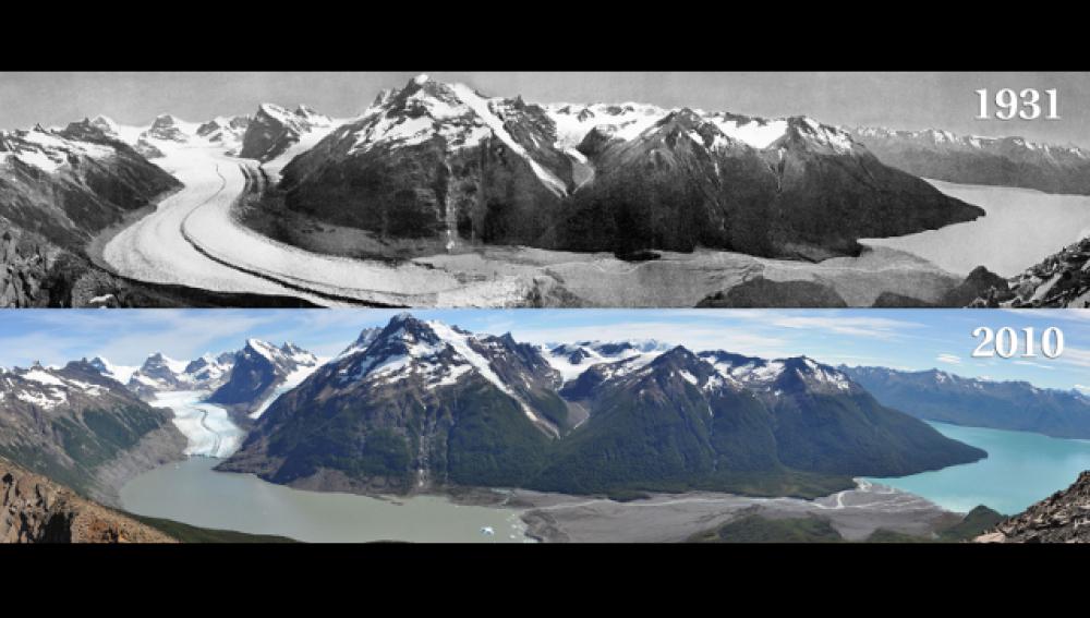 Glaciar Ameghino en Argentina