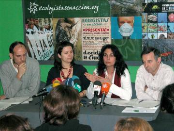 Representantes de organizaciones ecologistas