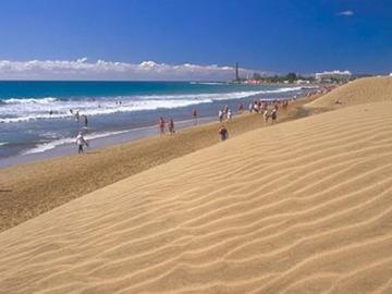 La grancanaria Playa de Maspalomas