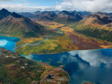 Lago Chikuminuk, Alaska