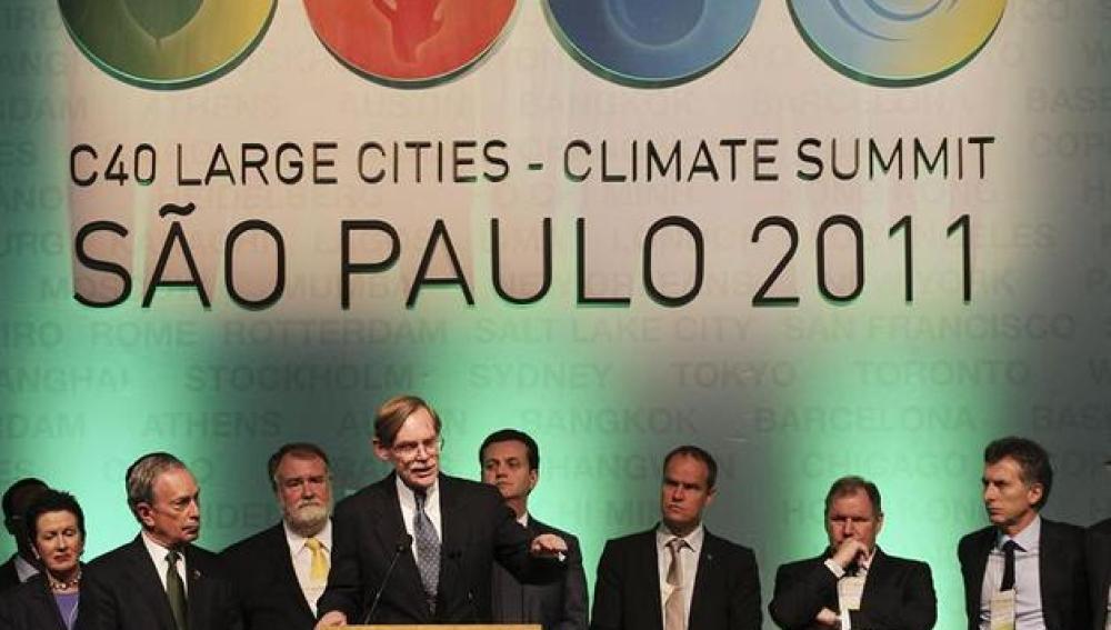 Cumbre C40 en Sao Paulo