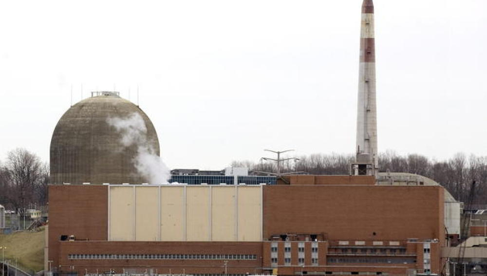 Imagen del Centro Energético Indian Point en abril de 2011