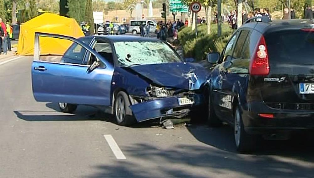 Accidente en Vicálvaro