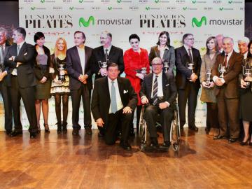 El Estirón recibe el premio de la Fundación Pilates