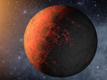 Recreación del Planeta Kepler-20e.