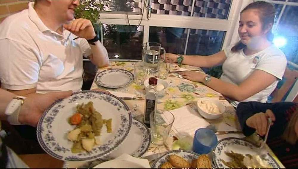 Las verduras en la mesa de los Rosa García