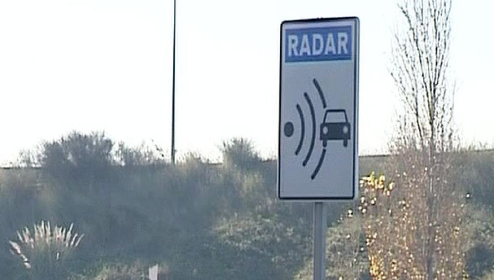 Desciende el número de multas por radares