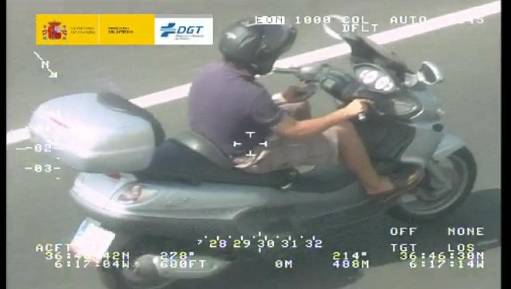Campaña de vigilancia de motocicletas