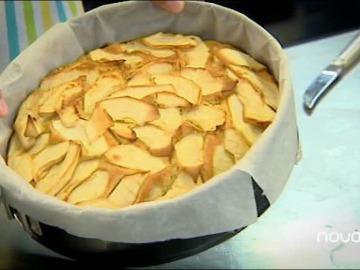Tarta de manzana apta para diabéticos