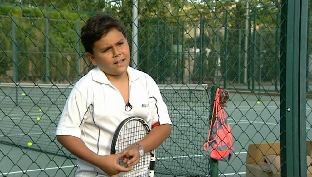 Los Naím, tenistas de primera