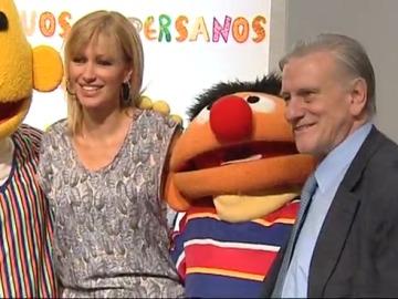 Susanna Griso y Valentir Fuster con Epi y Blas