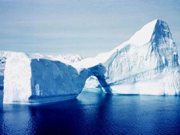 Reducción de la superficie de hielo del Ártico batió récords