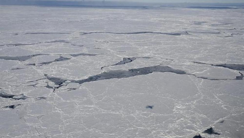 Mar de Bellinghausene, en el antártico