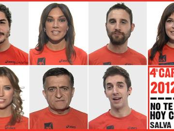 Las caras más conocidas de laSexta para la 4ª Carrera Ponle Freno