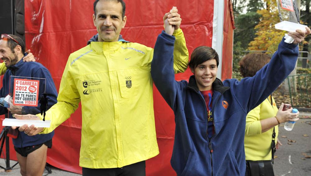 Dos ganadores de 10 km en la 4ª Carrera Ponle Freno