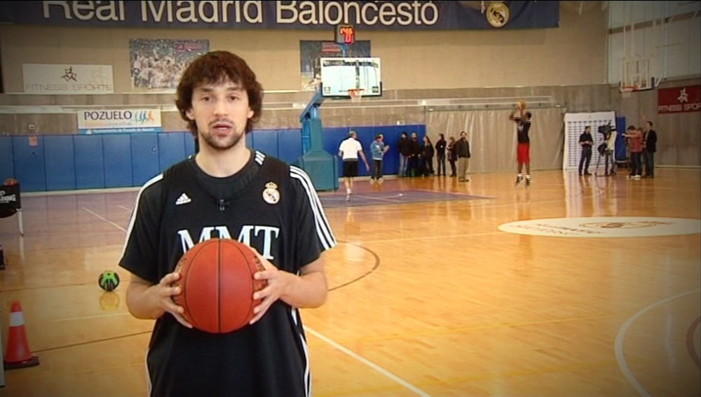 Sergio habla del baloncesto y de sus hábitos saludables