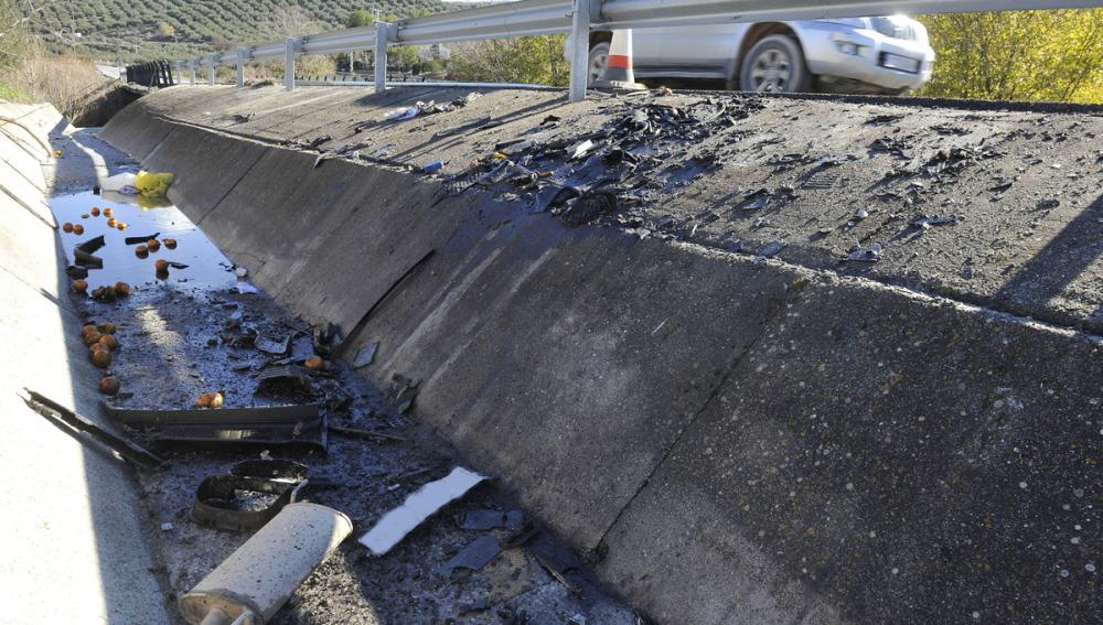 Trágico accidente en Iznalloz (Granada)