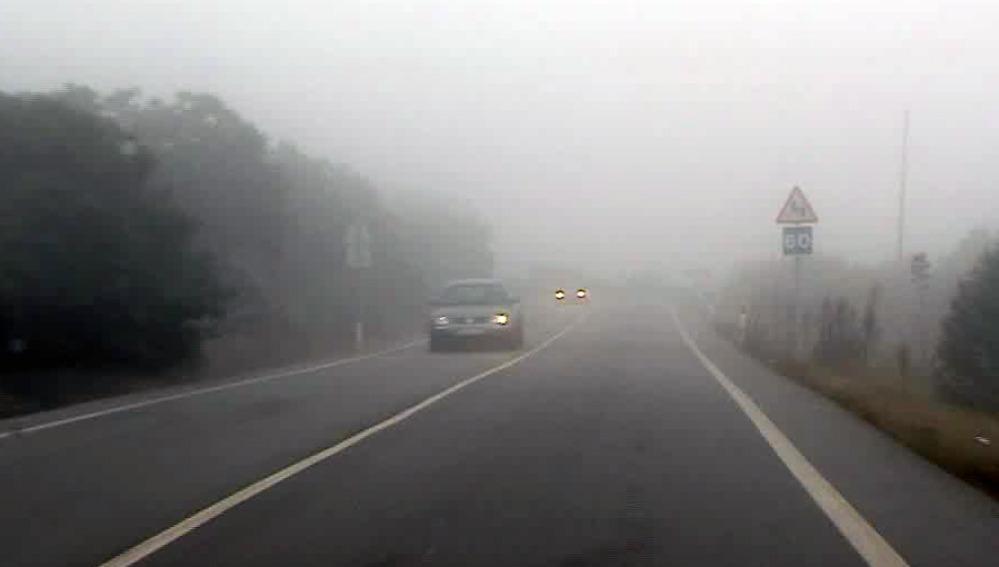 La conducción con niebla
