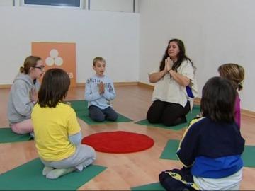 El yoga, muy saludable para los niños