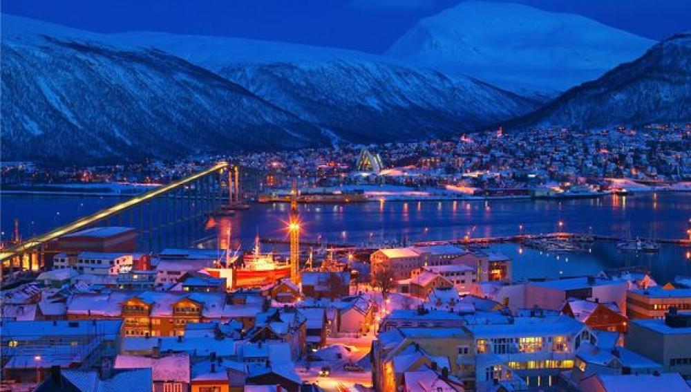 Imagen de Tromso en Noruega
