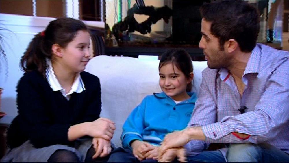Rebeca y Siena, las nuevas protagonistas de 'El Estirón'