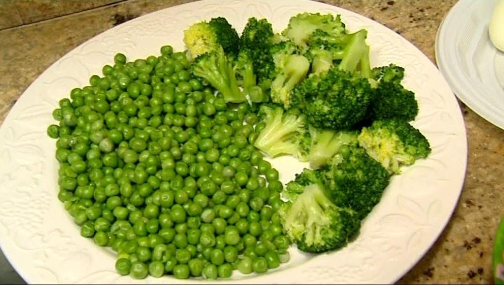 Las verduras de hoja verde son muy recomendables
