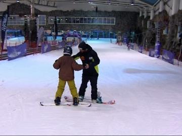 Snowboard en 'Madrid SnowZone'