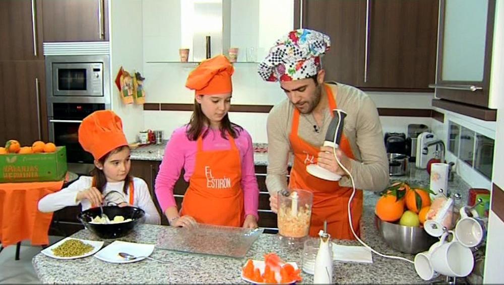 Rebeca y Siena cocinan junto a Roberto