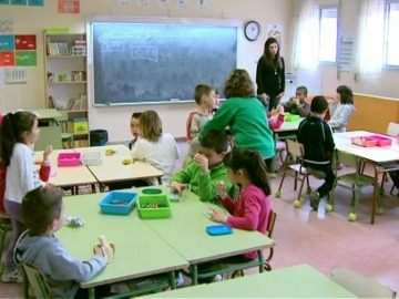 El colegio Miguel Delibes celebra las 'Mini Olimpiadas' y los desayunos saludables