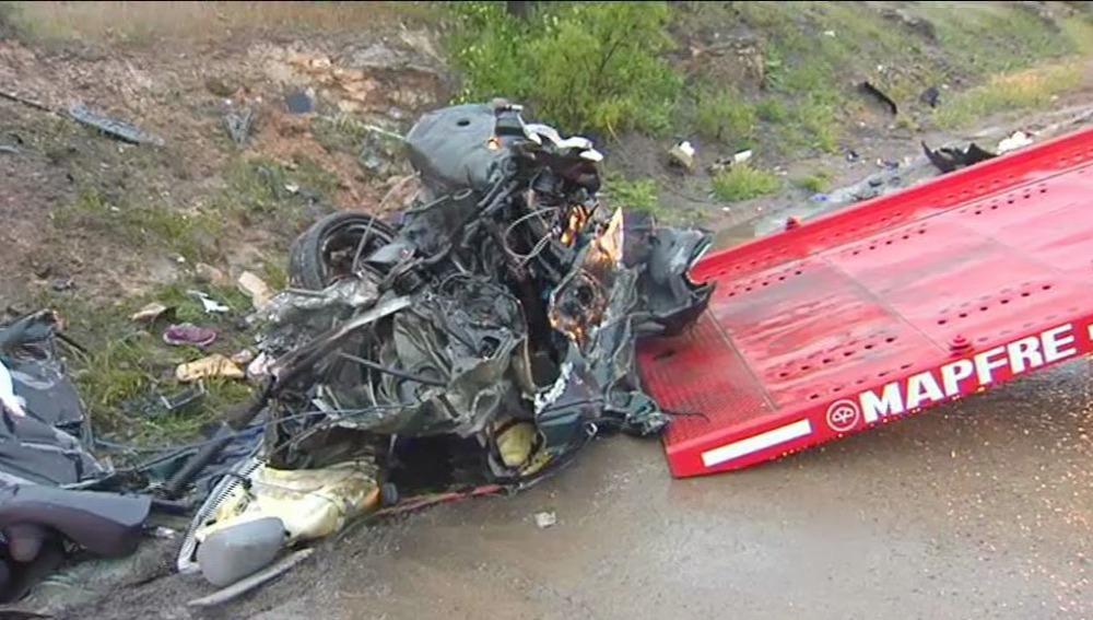 Mueren en un accidente en Cuenca los cinco miembros de una familia de Madrid