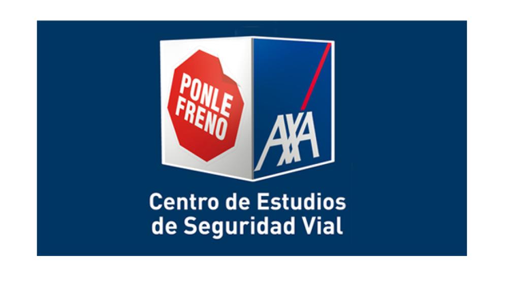 Logo azul Centro de Estudios Ponle Freno-AXA