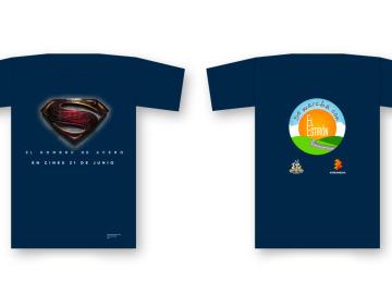 Las camisetas que servirán de dorsal para De Marcha con El Estirón 2013