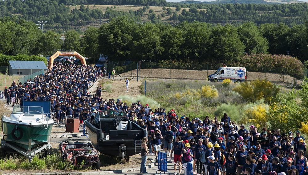 2,3 km de recorrido en De Marcha con El Estirón