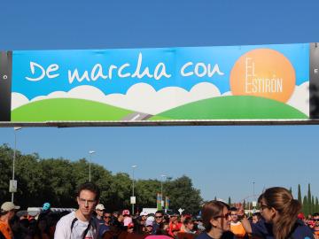 El cartel de De Marcha con El Estirón
