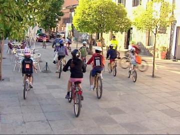 Muévete con 'El Estirón' yendo al cole en bicicleta