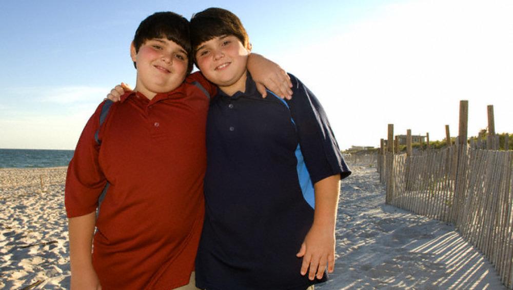 Niños obesos.