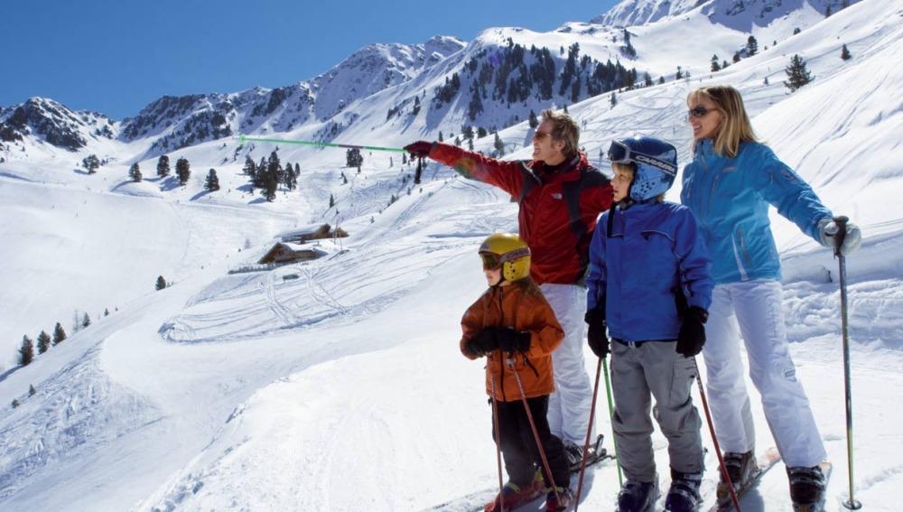 Niños esqui