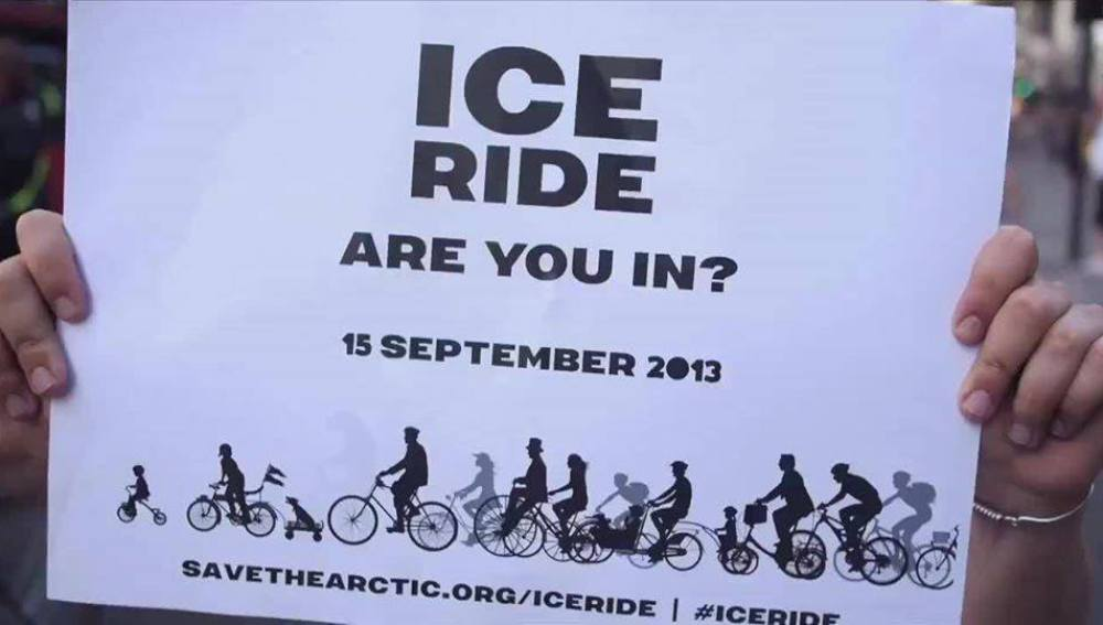 Greenpeace IceRide Ártico
