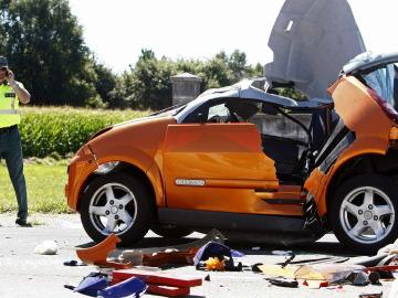 Accidente del sábado en el municipio coruñés de A Capela